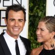 Jennifer Aniston et Justin Theroux brillent aux Golden Globes 2015.