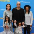 """Melanie Brown (Mel B), son mari Stephen Belafonte et ses enfants Angel, Madison et Phoenix - Première du film """"Paddington"""" au Chinese Theatre à Hollywood. Le 10 janvier 2015"""