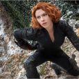 Scarlett Johansson dans Avengers : L'ère d'Ultron.