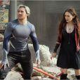 Aaron Taylor-Johnson et Elizabeth Olsen dans Avengers : L'ère d'Ultron.