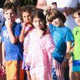 Exclusif - Charlotte, la fille de Sarah Michelle Gellar, à Santa Monica, le 20 août 2014