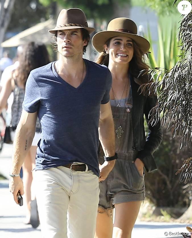 Ian somerhalder et sa petite amie nikki reed vont d jeuner for Diner avec des amis