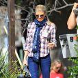 Fergie à Brentwood, Los Angeles, le 16 janvier 2015