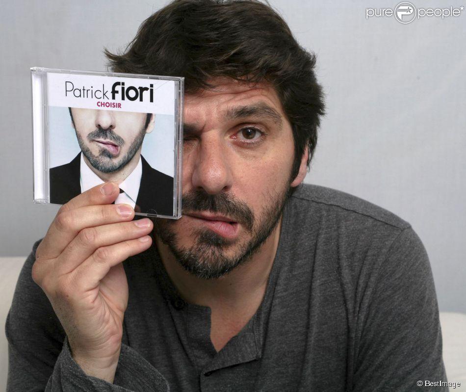 Portrait de Patrick Fiori le 21 mai 2014