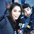 La jolie Lucia Villalon, journaliste de Real Madrid TV et nouvelle compagne supposée de Cristiano Ronaldo - 2015