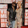 Kanye West et Amber Rose aux MTV Video Music Awards 2009 à New York. Septembre 2009.