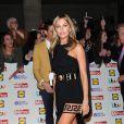 """Abbey Clancy lors des """"Pride of Britain Awards 2014"""" à Londres, le 6 octobre 2014"""