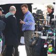 """Exclusif - Will Ferrell sur le tournage du film """"Daddy's Home"""" à La Nouvelle-Orléans, le 19 novembre 2014."""