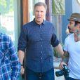 Exclusive - Will Ferrell s'amuse avec un mannequin le 6 novembre 2014