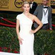 """Reese Witherspoon en Giorgio Armani a foulé le tapis rouge des 21ème  """"Screen Actors Guild Awards"""" à l'auditorium """"The Shrine"""" à Los Angeles, le 25 janvier 2015."""