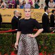 """Kelly Osbourne est l'une des moins bien habillées des """"Screen Actors Guild Awards"""" à l'auditorium """"The Shrine"""" à Los Angeles, le 25 janvier 2015."""