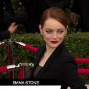 SAG Awards : Emma Stone, Jennifer Aniston, Kelly Osbourne... tops et flops look !