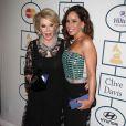 Joan Rivers, Melissa Rivers à la 56 eme Soiree pre-Grammy and Salute To Industry Icons au Beverly Hilton Hotel de Beverly Hills le 25 janvier 2014