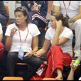 Stéphanie de Monaco dans les gradins avec sa fille Pauline Ducruet