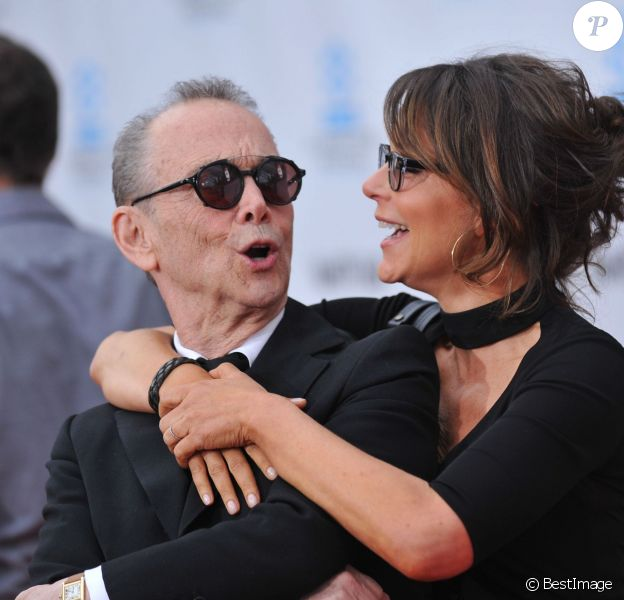 Joel Grey et Jennifer Grey à Hollywood, le 12 avril 2012.