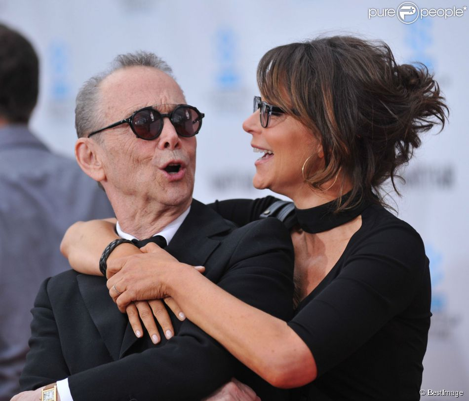 Joel Grey et Jennifer Grey à Hollywood, le 12 avril 2012.