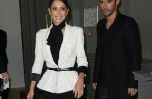 Fashion Week: Cheryl Cole et son mari, amoureux assortis au défilé Ralph & Russo