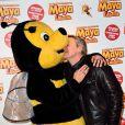 Antoine de Caunes à la première de La grande aventure de Maya l'abeille à l'UGC Ciné Cité de Bercy à Paris, le 1er février 2015.