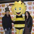 """Jenifer et Christophe Maé à l'avant-première du film """"Maya l'abeille"""" à l'UGC Ciné Cité Bercy à Paris le 1er février 2015."""