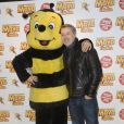 """Christophe Beaugrand et Antoine de Caunes Avant-première du film """" Maya l'abeille """" à l'UGC Ciné Cité Bercy à Paris31/01/2015 - Paris"""