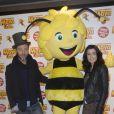 """Jenifer Dadouche-Bartoli et Christophe Maé Avant-première du film """" Maya l'abeille """" à l'UGC Ciné Cité Bercy à Paris31/01/2015 - Paris"""