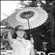 La princesse Grace, à Monaco, 1973.