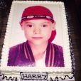 Un des gateaux pour l'anniversaire d'Harry Styles le 31 janvier 2015