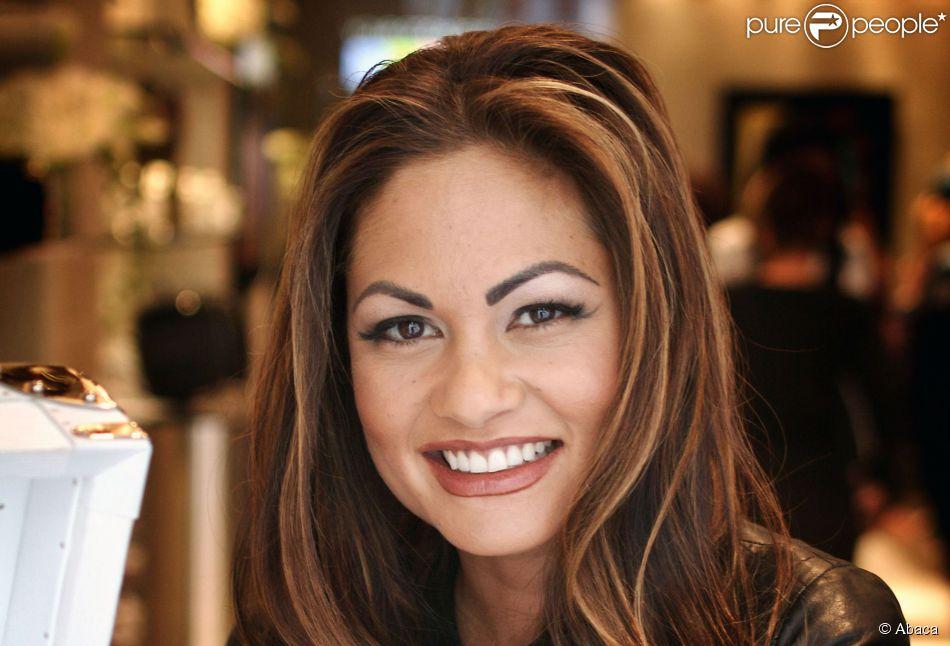 Orianne Mejjati Allami, ex-épouse de Phil Collins dans son magasin 'OC' sur Madison Avenue à Manhattan à New York le 14 octobre 2010