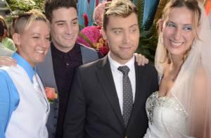 Lance Bass et son jeune époux s'invitent dans 70 mariages en même temps