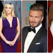 BAFTA 2015 : Julianne Moore chic et décolletée, David Beckham séducteur en solo