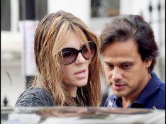 PHOTOS : Liz Hurley et son mari : de l'eau dans le gaz ?