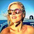 Celina Locks, photo publiée sur son compte Instagram le 2 août 2014