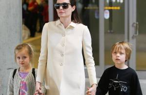 Angelina Jolie et ses jumeaux : Knox et Vivienne épuisés par 10 heures de vol