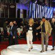 """Margot Robbie et Will Smith - Avant-première du film """"Focus"""" (Diversion) à Londres, le 11 février 2015."""