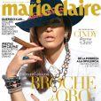 Cindy Crawford en couverture du Marie Claire mexicain en 2013.