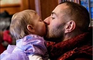 Karim Benzema et sa fille Mélia : Papa comblé par un tendre moment de complicité