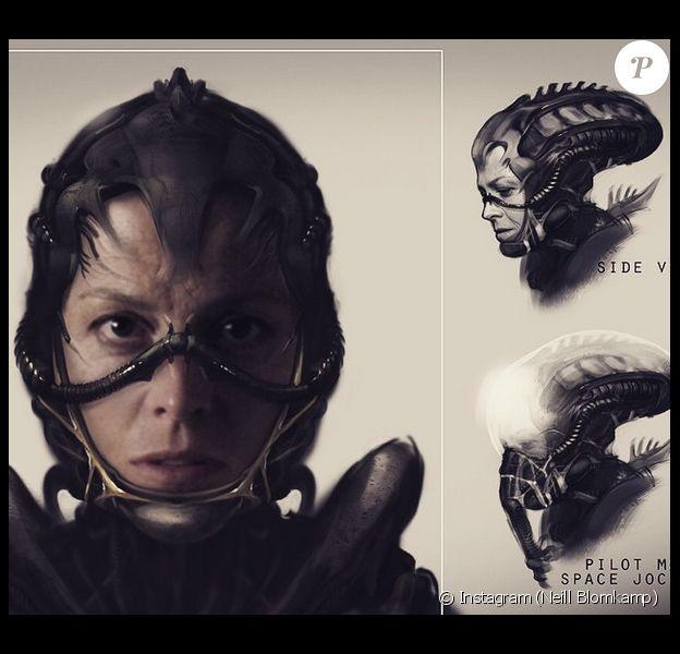 Sigourney Weaver, aka Ellen Ripley dans la saga, reviendra-t-elle dans l'Alien 5 de Neill Blomkamp ? (photo postée le 2 janvier 2015)