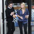 Exclusif - Harry Styles et sa compagne Nadine Leopold sont allés chez Frozen Yogurt à Beverly Hills, le 4 février 2015