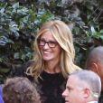 Julia Roberts à Brentwood, Los Angeles, le 9 octobre 2014, aux côtés de sa mère Betty Lou.