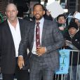 "Will Smith arrive à l'émission ""Late Show With David Letterman"" à New York, le 18 février 2015 Will Smith making an appearance on the 'Late Show With David Letterman' in New York City, New York on February 18, 201518/02/2015 - New York"