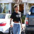 Exclusive - Exclusive - Willow Smith dans les rues de Los Angeles, le 7 novembre 2014.