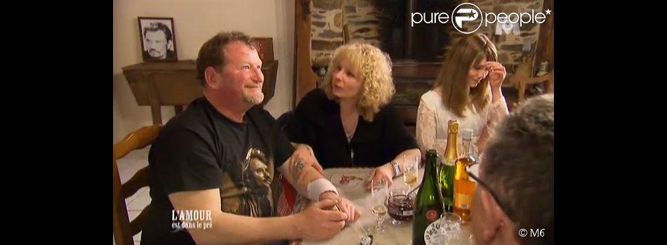 """Le touchant François et Marie-Line - """"L'amour est dans le pré 2014"""" - Emission du 25 août 2014."""