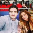 Michael et Lindsay Lohan, photo postée le 9 novembre 2014