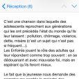 La réponse de Jean-Jacques Goldman à la polémique du clip Toute une vie des Enfoirés, le 27 février 2015