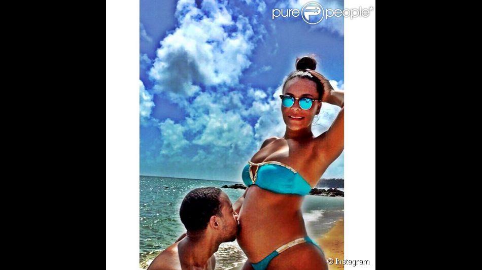 Eudoxie, la femme du rappeur américain Ludacris a ajouté une photo sur son compte Instagram le 1er mars 2015