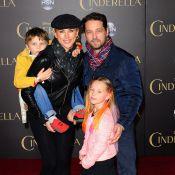 Jason Priestley et Ian Ziering, stars de 'Beverly Hills', papas poules aux anges