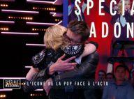 Madonna au Grand Journal : En larmes et en live...