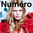 Couverture du magazine Numéro pour mars 2015.