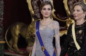 Letizia d'Espagne : Éblouissante au côté de la première dame colombienne...