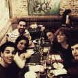 Christophe Licata a célébré l'anniversaire de Fauve à Londres. Une soirée complètement dingue lors de laquelle ils ont fait un tatouage commun. Le 3 mars 2015.